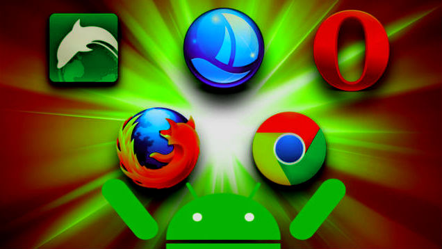 all android mobile browsers