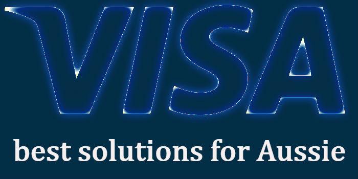 best visa online casinos for aussie